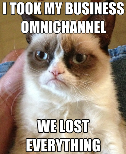 Lost everything through Omnichannel