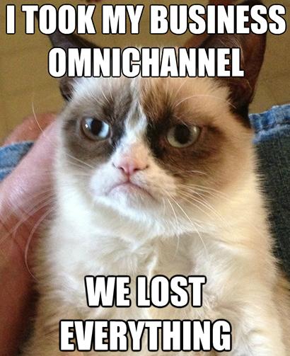 Lost everything through Omnichannel