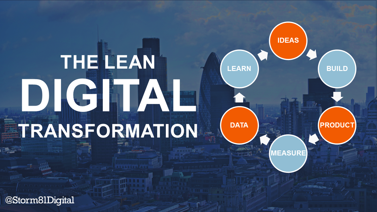 The Lean Digital Transformation - Storm81